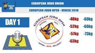 European Judo Open   Minsk 2018   Day 1