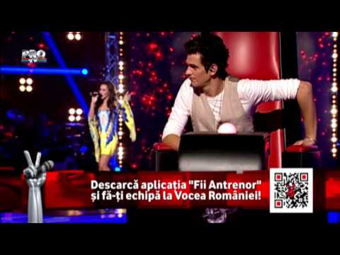 Diana Bucsa (Celine Dion) Alone The Voice