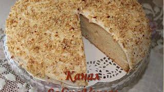Торт  Сметанный, очень  вкусный,  попробуйте испечь!