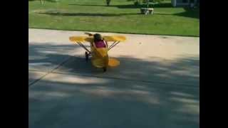 J3 Cub Pedal Plane