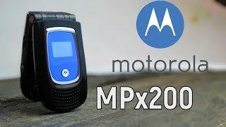Motorola MPx200: первая раскладушка на Windows (2003) – ретроспектива