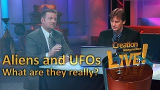 Aliens and UFOs - Does the Bible explain these things? - Creation Magazine LIVE! (2-10) by CMIcreationstation