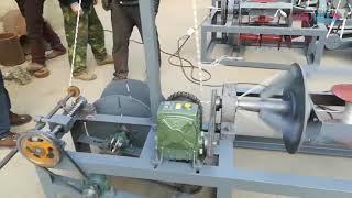 rope making machine, plastic rope machine, paper rope machine, cotton rope machine