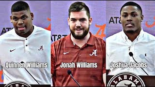 Quinnen Williams, Joshua Jacobs, and Jonah Williams declare early for NFL Draft