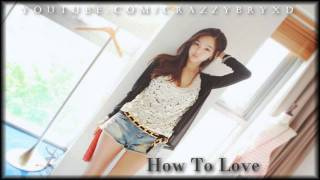 Download How To Love - August Rigo (Cover) ♥ MP3 song and Music Video