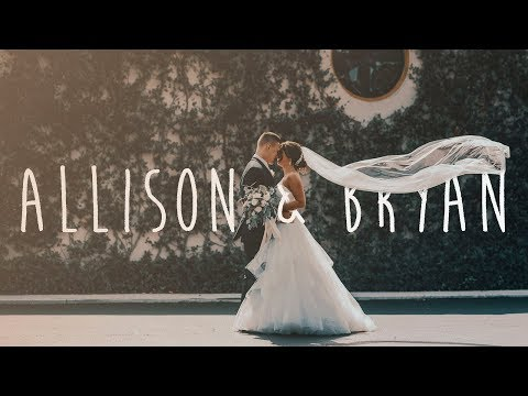 Allison And Bryan Wedding Video
