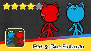 Red and Blue Stickman : Animation Parkour Day49 Walkthrough Recommend index four stars