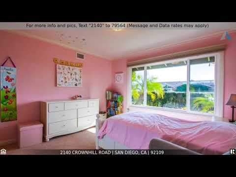 Priced at $1,650,000 - 2140 Crownhill Road, San Diego, CA 92109