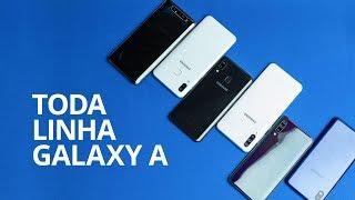Galaxy A10, A20, A30, A50, A70 e A80 [Comparativo]