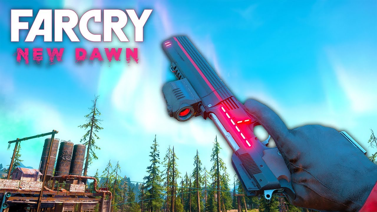 Far Cry New Dawn The Only Pistol You Need Far Cry New Dawn Free Roam 10 Youtube