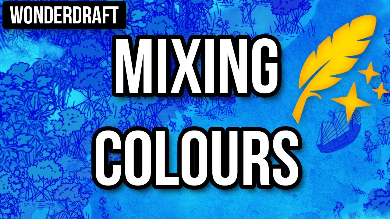 Tutorial: Mixing colours in Wonderdraft