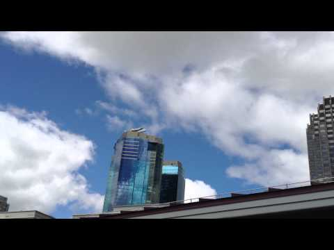 Space Shuttle Enterprise - Fly over Jersey City