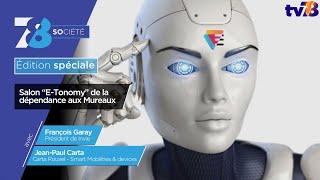 """7/8 Société. Edition spéciale """"Salon E-Tonomy"""" aux Mureaux"""