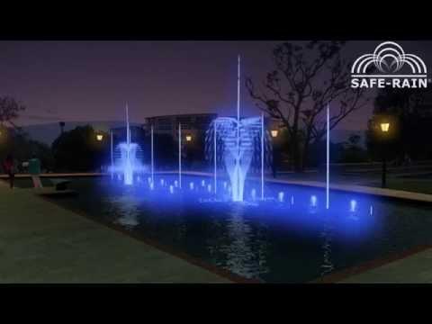 Dancing fountain - Fuente danzante