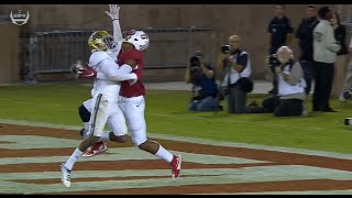 Stanford WR Francis Owusu College Football Catch Of The Year! (HD)