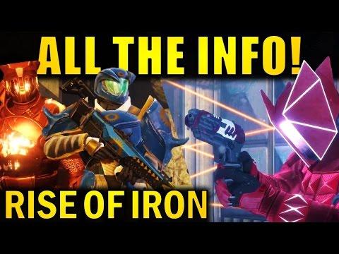 Destiny: ALL THE INFO! | Private Matches, New Exotics, Raid Info, & More! | Rise of Iron Stream