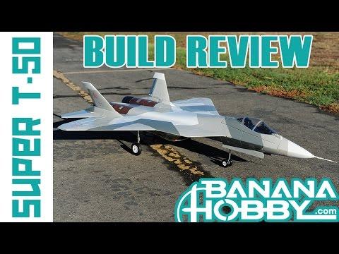 Super PAK FA T-50 | Build Review | EDF Fighter Jet