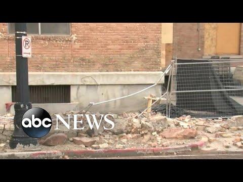 Earthquake rattles Utah l ABC News