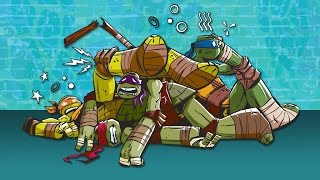 Teenage Mutant Ninja Turtles | Epic Fight Fails! | Nick