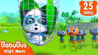 Biệt đội siêu cứu hộ - Cuộc giải cứu đàn kiến | Tuyển tập hoạt hình thiếu nhi hay nhất | BabyBus
