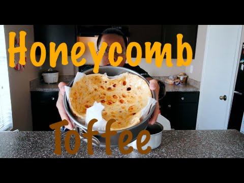 Tasty honeycomb toffee