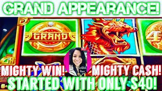👸🏽🤳🏽🎰 GRAND APPEARANCE ON THE FIRST TIME PLAYING MIGHTY CASH! LIVE PLAY (DID THAT JUST HAPPEN?)