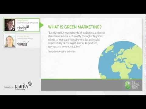 Effective green marketing (webinar 3)