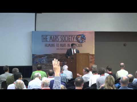 Dean Cheng - 18th Annual International Mars Society Convention