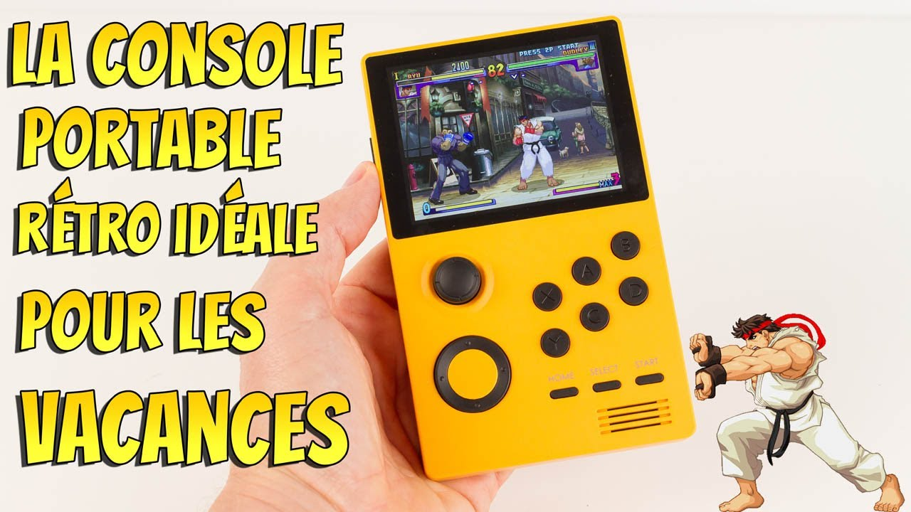 LA console portable rétro au top pour les vacances Unboxing Review Gameplay retrogaming borne arcade