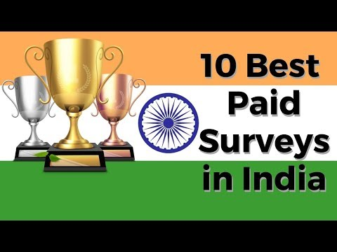 10 Best Paid Surveys in India (100% Free to Join)