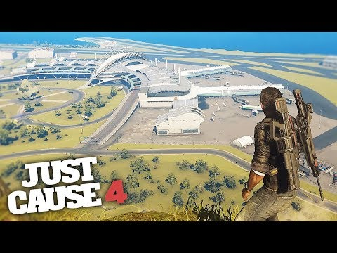 BIGGEST AIRPORT IN JUST CAUSE 4! - Just Cause 4 Gameplay!