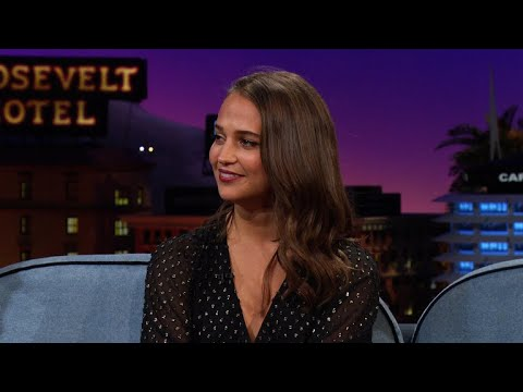 Alicia Vikander Barely Survived Biking Through London