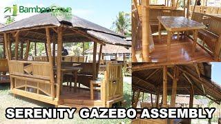 Bamboo Grove Furniture - Serenity Gazebo Assembly