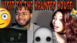 StormJay Reacts to Jimmy and Kevin Hart Visit a Haunted House