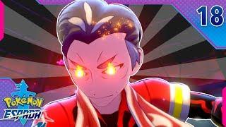 Pokémon Espada Ep.18 - EL COMBATE MÁS ESPECTACULAR DE LA SERIE