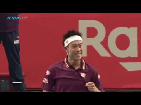 Best shots as brilliant Kei Nishikori on fire vs Richard Gasquet | Tokyo 2018