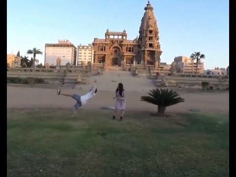 Ghost hitting an actor in Baron Palace in EGYPT +18 (Baron 3D Movie)