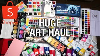 BEST CHEAP WATERCOLOR PALETTES & ACRYLIC PAINT SETS I COULD FIND WITH PRICES AT SHOPEE PHILIPPINES