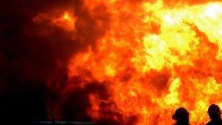Пожар на складе на Алтуфьевском шоссе в Москве сегодня 2016г.