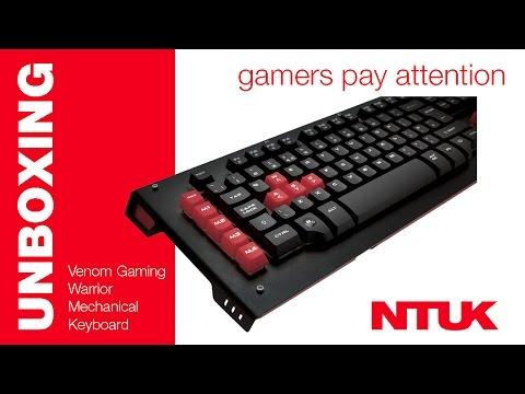 Venom Gaming Warrior Mechanical Keyboard {Unboxing & First Look}