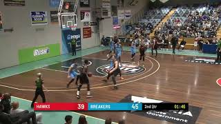 Tim Coenraad with 21 Points vs. New Zealand Breakers