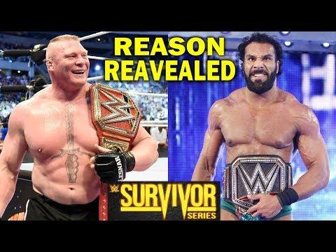 5 Reasons Why Brock Lesnar is Facing Jinder Mahal at WWE Survivor Series 2017