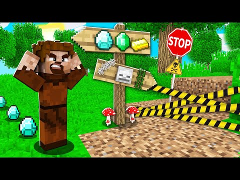 FAKİR SAKIN YANLIŞ YOLU SEÇMESİN! 😱 - Minecraft