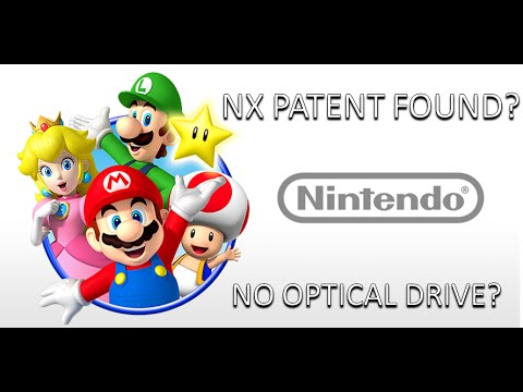 EP 18 Nintendo NX Patent Found?  No Optical Drive?  Return to Cartridges/Flash Memory?