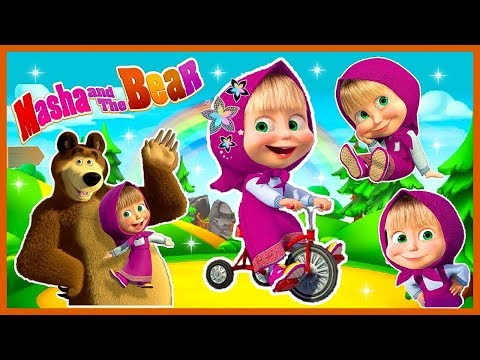 Masha and The Bear Girls Games Toys & Makeup Dress Up Makeover Salon – Маша и медведь – ماشا و الدب