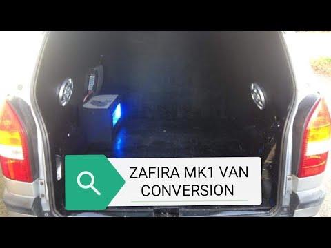 Zafira A Van Conversion