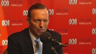 Australian PM Tony Abbott winks at adult sex line caller on radio show