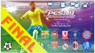 PES 2013 PATCH 2016   PESEDIT 8.1