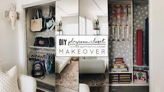 DIY Playroom Closet Makeover