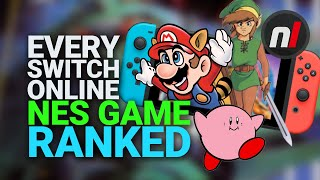 Every Nintendo Switch Online NES Game RANKED